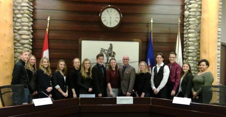 2017 2018 Youth Council In Chambers